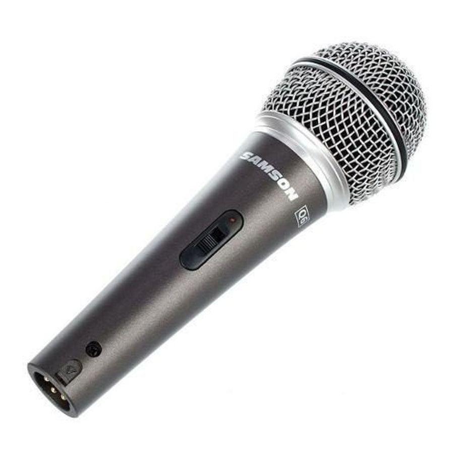 Microfono-Dinamico-Samson-Q6-Con-Switch-Incluye-Cable