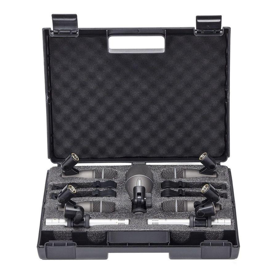 Set-De-7-Microfonos-Samson-Dk707-Para-Bateria-Con-Soporte
