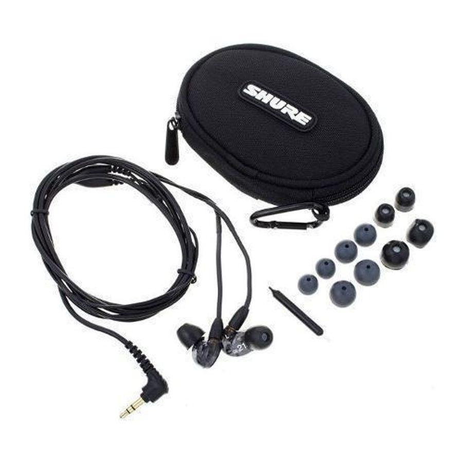 Auricular-Profesional-Shure-Se215-Cable-Removible-En-Negro
