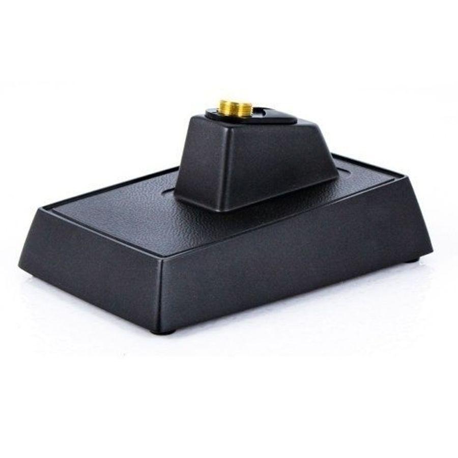 Soporte-De-Microfono-Shure-S37a-De-Mesa-Base-Rectangular