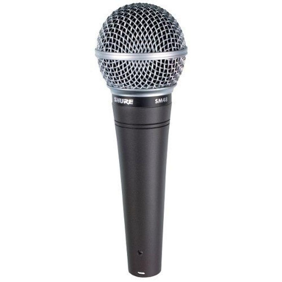 Microfono-Dinamico-Shure-Sm48-Cardiode-Para-Voces