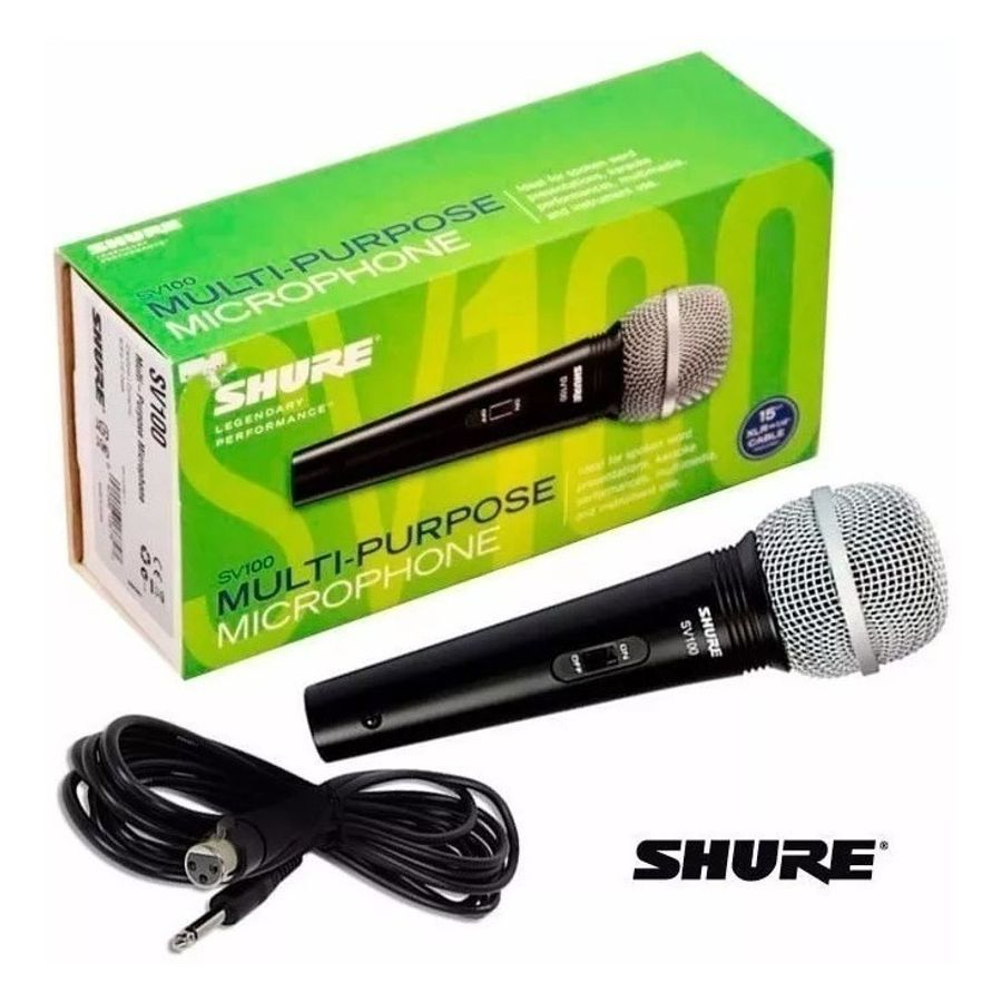 Microfono-Shure-Dinamico-Multiuso-Karaoke-Canto-Sv100