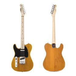 Guitarra-Elect-Squier-By-Fender-Telecaster-Affinity-Zurda
