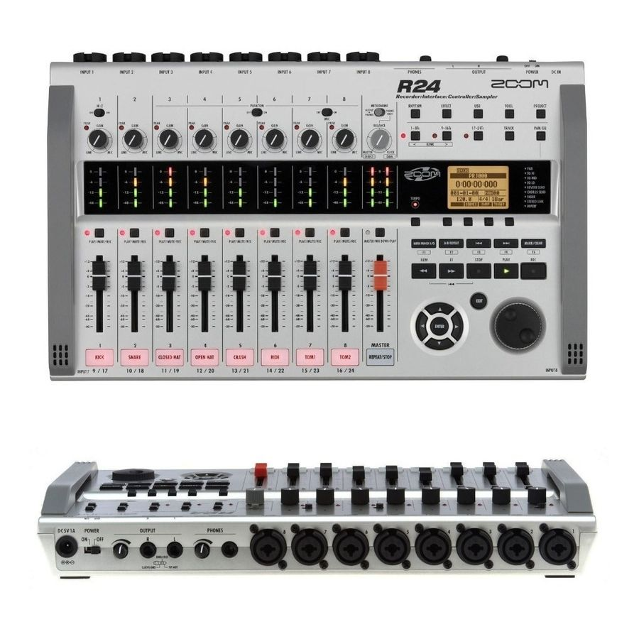Zoom-R24-Recorder-Interface-Grabador-24-Canales-Usb