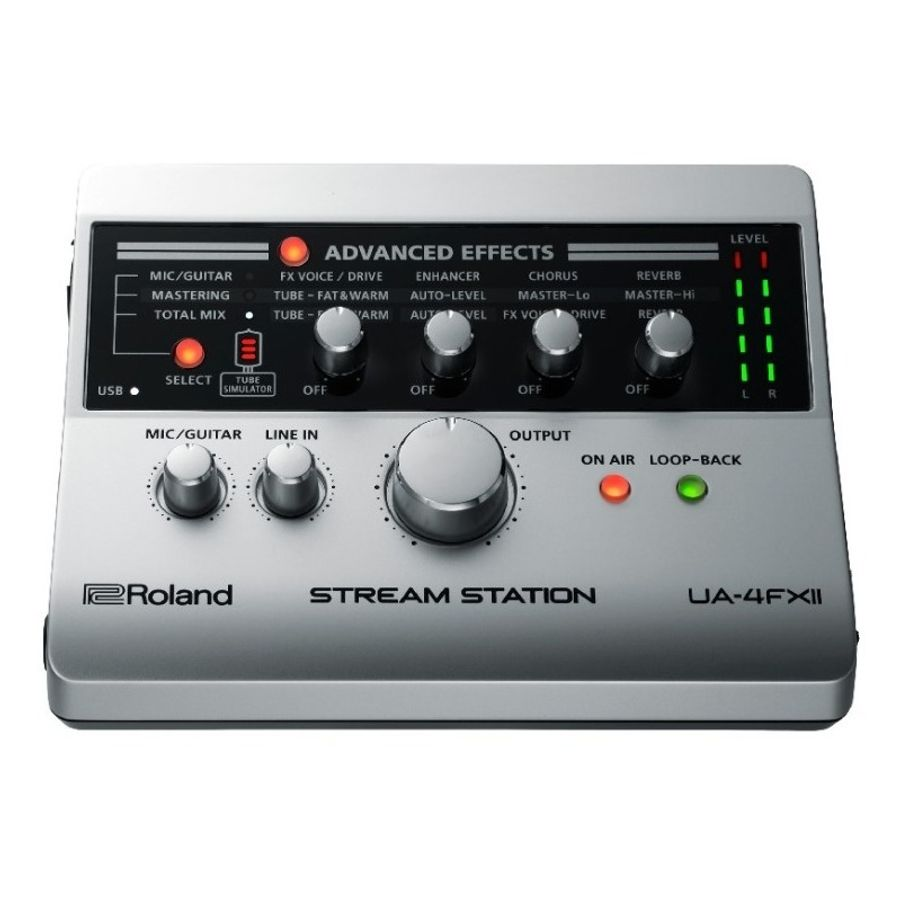 Interfaz-De-Audio-Roland-Ua4fx2-Usb-Stream-Station