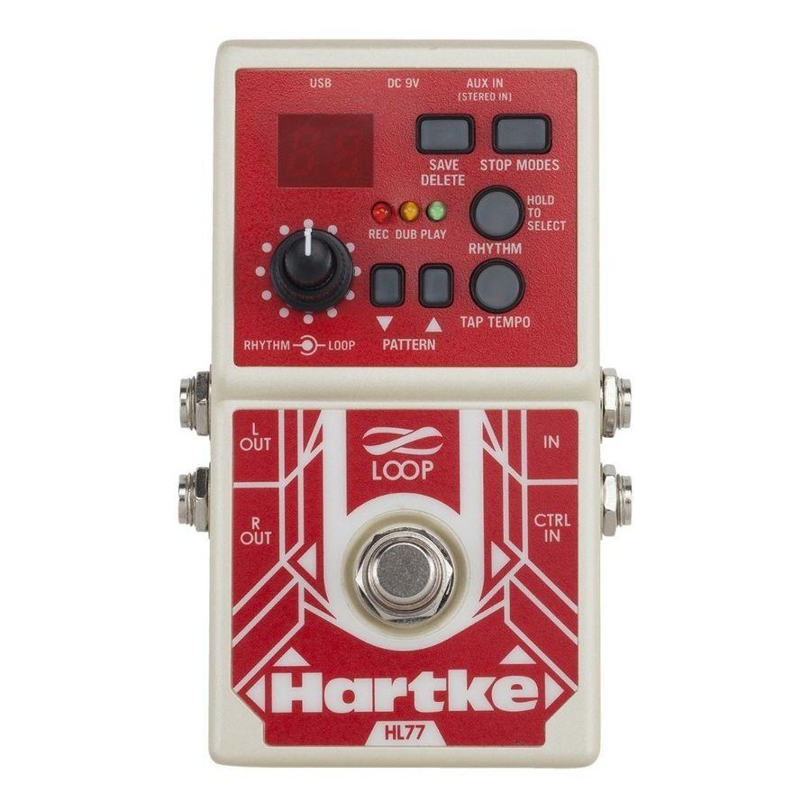 Pedal-Hartke-Hl77-Bass-Looper-99-Bancos-Memoria-6-Hrs-Usb