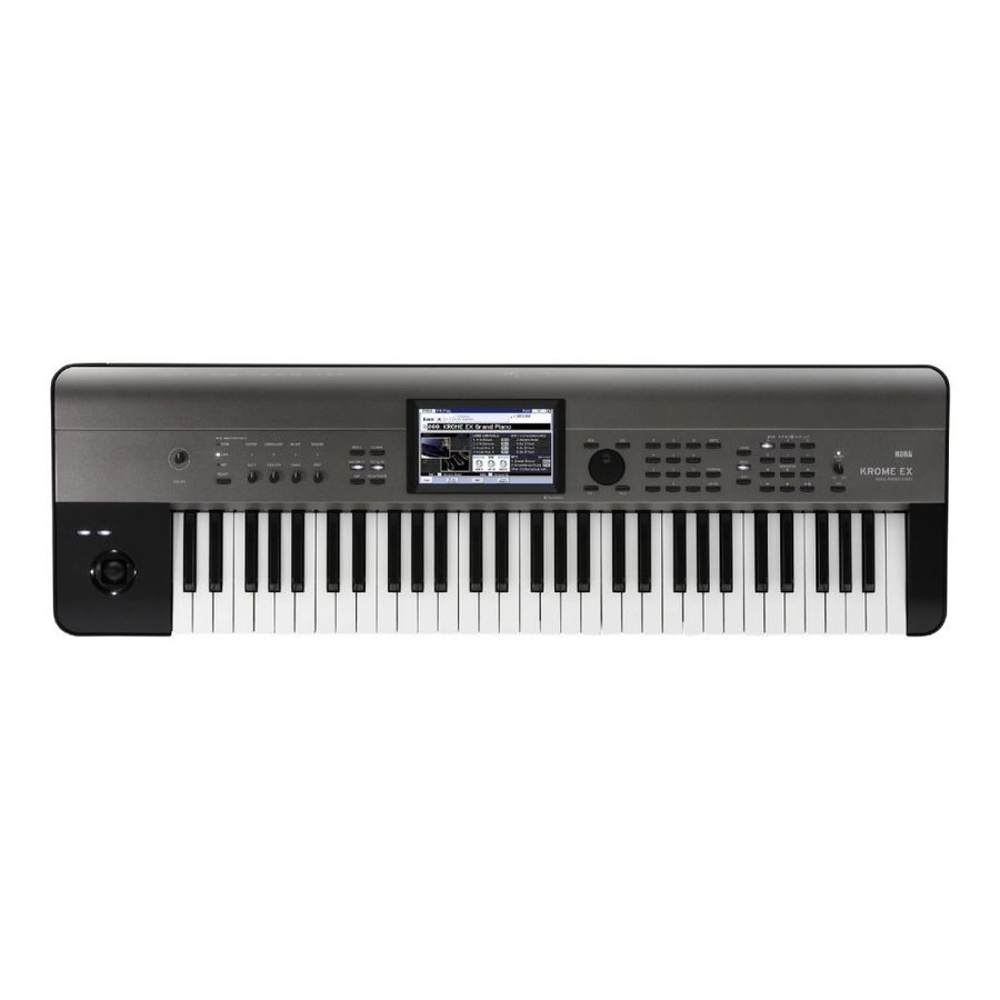 Sintetizador-Korg-Krome-Workstation-61-Teclas-61-ex