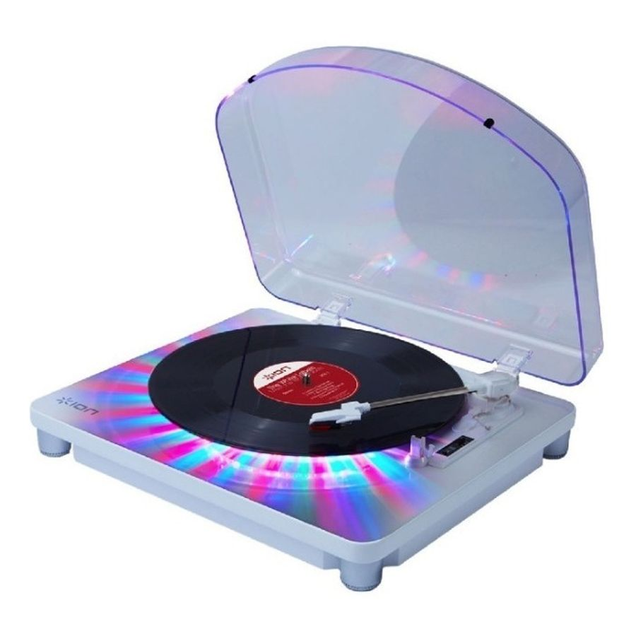 Bandeja-Gira-Discos-Ion-Photon-Lp-Multi-color-Led-Y-Usb