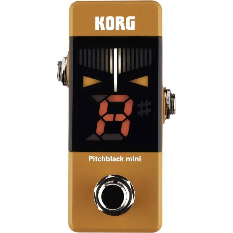 Afinador-De-Pedal-Korg-Pitchblack-Pb---Mini-True-Bypass