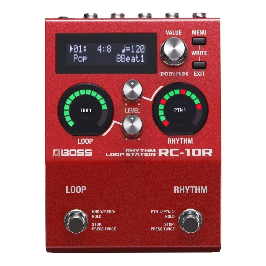 Pedal-De-Efectos-Boss-Rc10r-Loop-Station-Rhythm