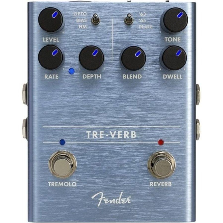 Pedal-P-guitarra-Electrica-|-Tre-verb-Tremolo-Reverb