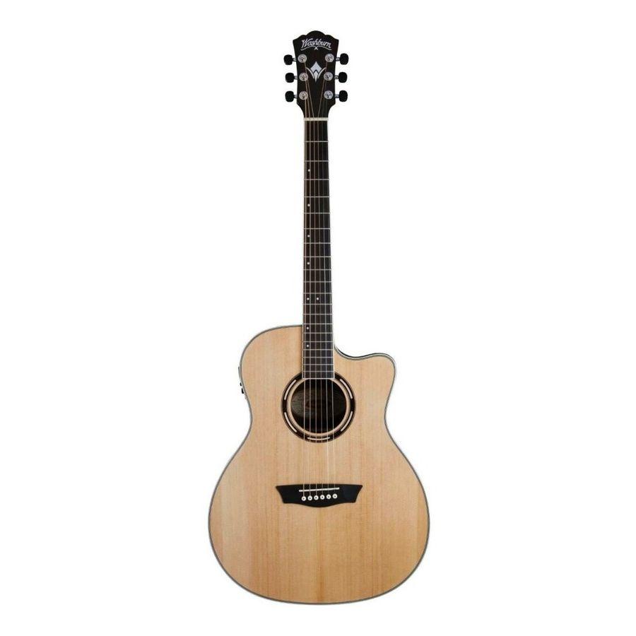 Guitarra-Electroacustica-Washburn-Ag70ce-Cuerda-Metal-Nat