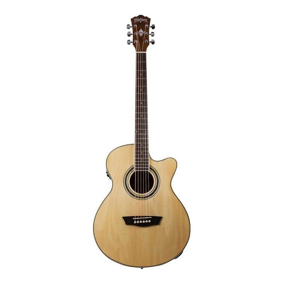 Guitarra-Electroacustica-Washburn-Ea12-Natural