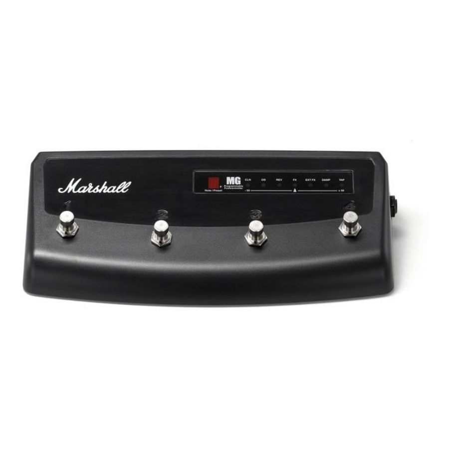 Pedal-De-Corte-Footswitch-Marshall-Mg-Pedl-90008-Para-Las-Series-Mg-fx-Y-Cfx