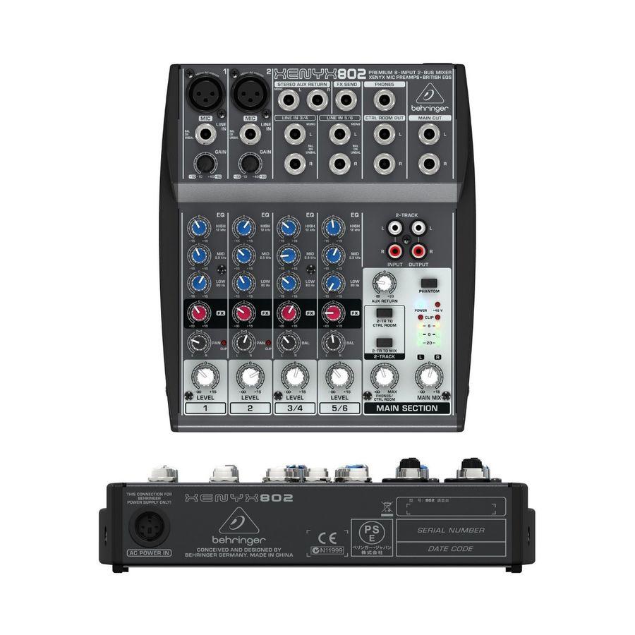 Consola-Compacta-Mixer-Behringer-Xenyx-802-Efectos-8-Canales