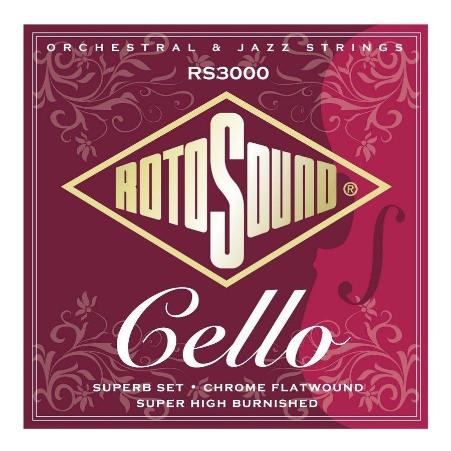 Encordado-Para-Cello-Rotosound-Rs3000-Serie-Profesional-Calibres-022-063-Violoncello