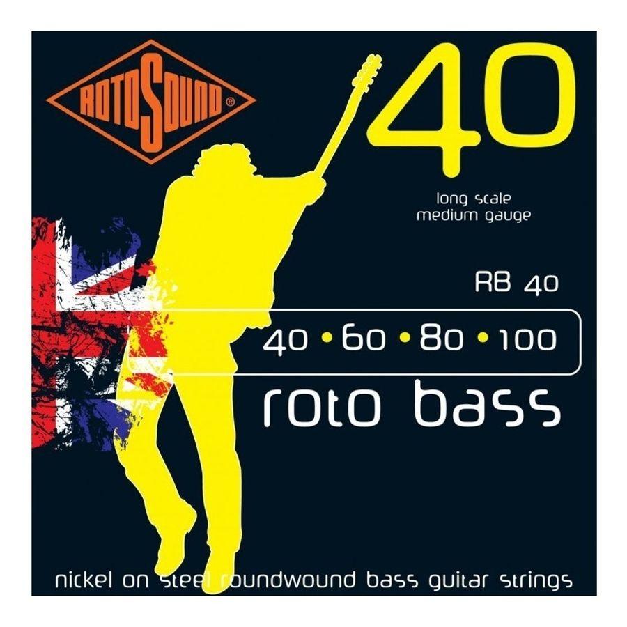 Encordado-Rotosound-England-Para-Bajo-4-Cuerdas-40-Rb40