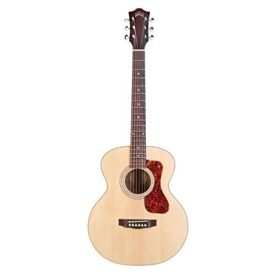 Guitarra-Electroacustica-Guild-Jumbo-Junior-Mh-De-Viaje-Con-Funda