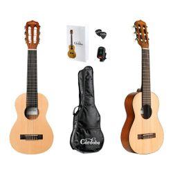 Guitarra-Viaje-Guitalele-Cordoba-Gp100-Caoba-Afinador-Funda