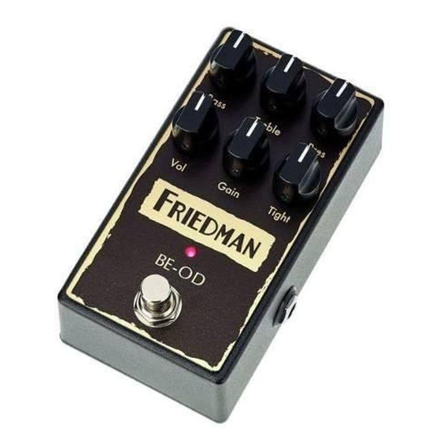 Pedal-De-Efectos-Overdrive-Friedman-Usa