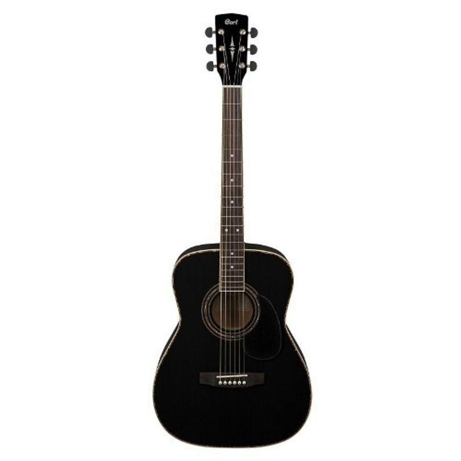 Guitarra-Acustica-Con-Funda-Cort-Ad880-Bk