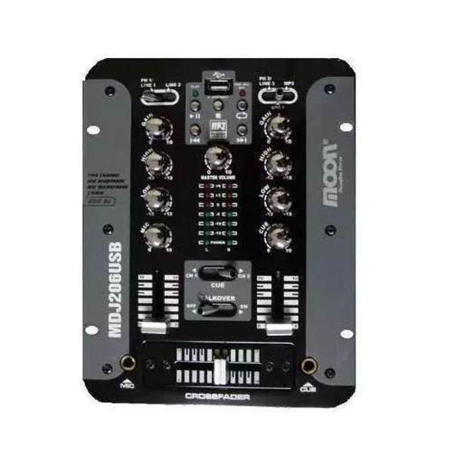 Moon-Consola-Mixer-Para-Dj-Dos-Canales-Con-Usb-Mdj206usb