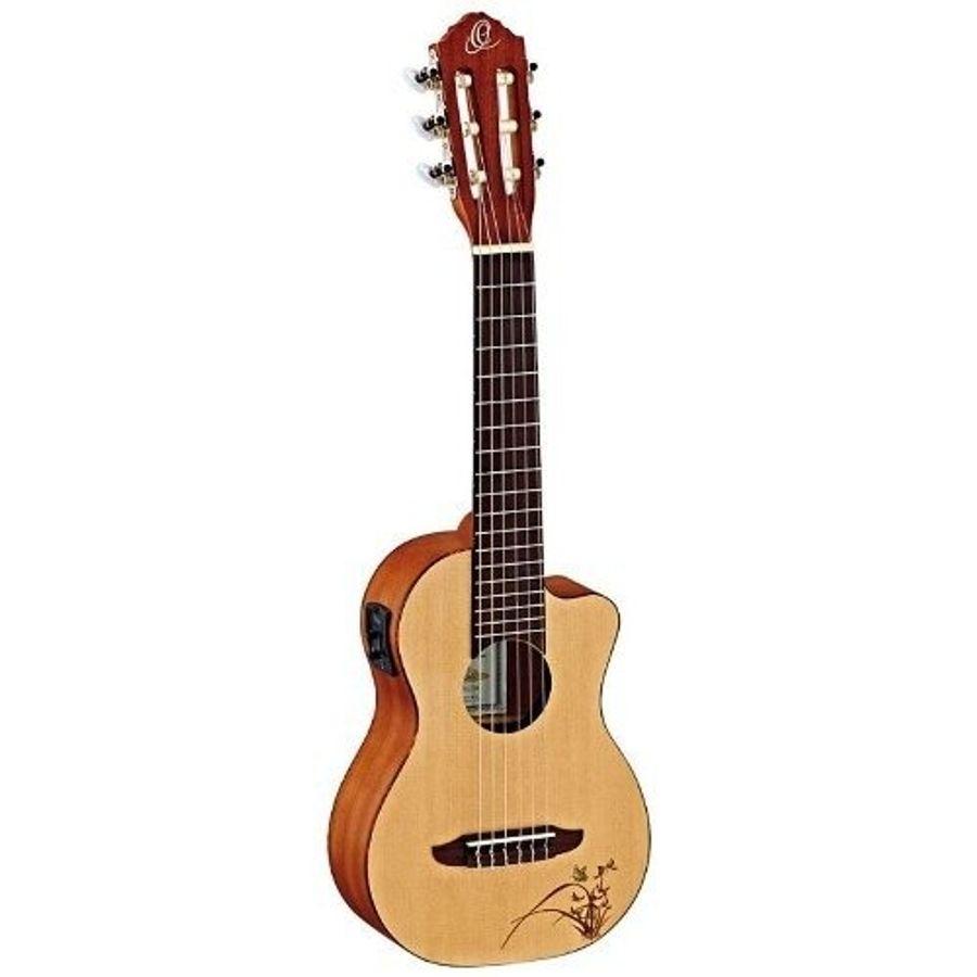 Guitalele-Ortega-Rgl5-Con-Microfono-Ideal-Guitarra-De-Viaje