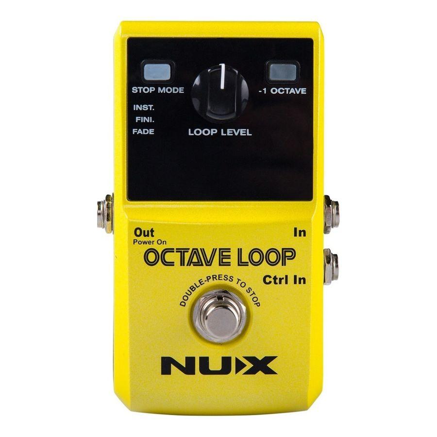 Pedal-Looper-Nux-Octave-Loop-Con-Octavador