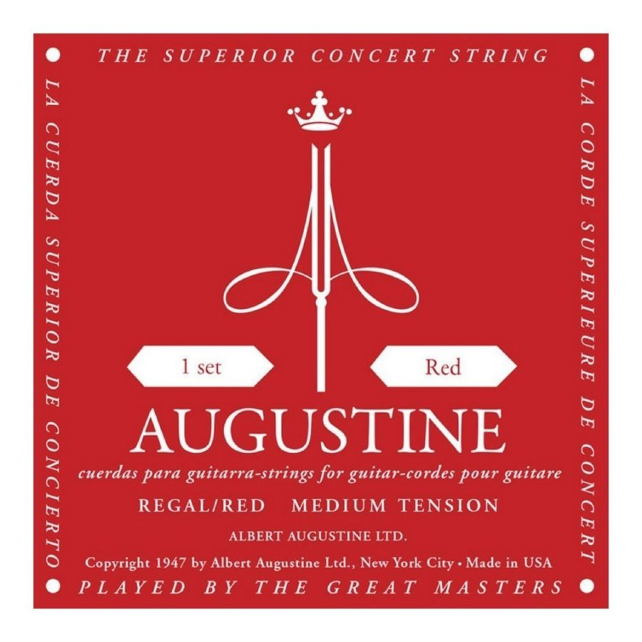 Encordado-Para-Guitarra-Clasica-Augustine-Classic-Red-Usa-Calibre-028-0425---Tension-Media