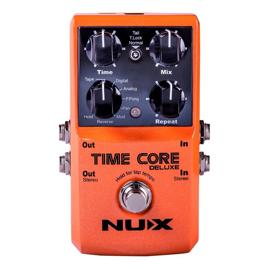 Pedal-Delay-Nux-Time-Core-Deluxe-Para-Guitarra-Electrica