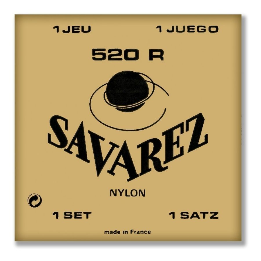 Encordado-Savarez-520r-Nylon-Tension-Normal-Guitarra-Clasica