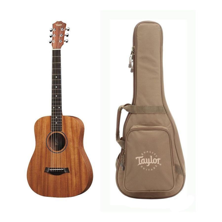 Guitarra-Electro-Acustica-De-Viaje-Taylor-Bt2-e-Con-Funda