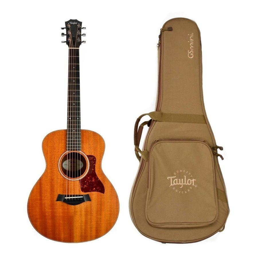 Guitarra-Acustica-Taylor-Gs-Mini-Mahogany-Con-Funda