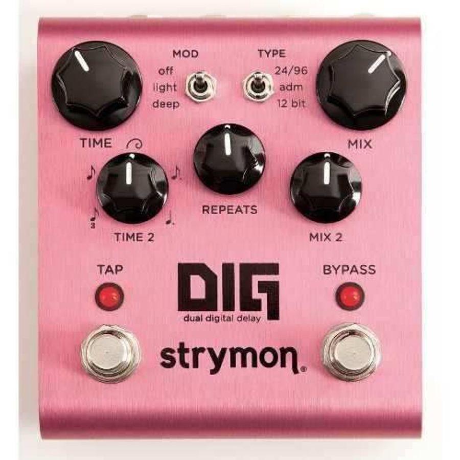 Pedal-De-Efectos-Strymon-Dig-Strymon-Digital-Delay-Dual-Dig