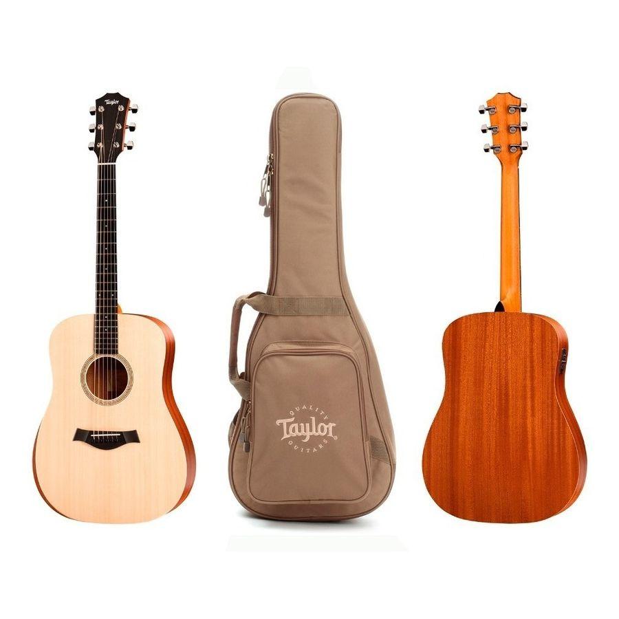 Guitarra-Electroacustica-Taylor-Academy-10-Funda-Tapa-Maciza