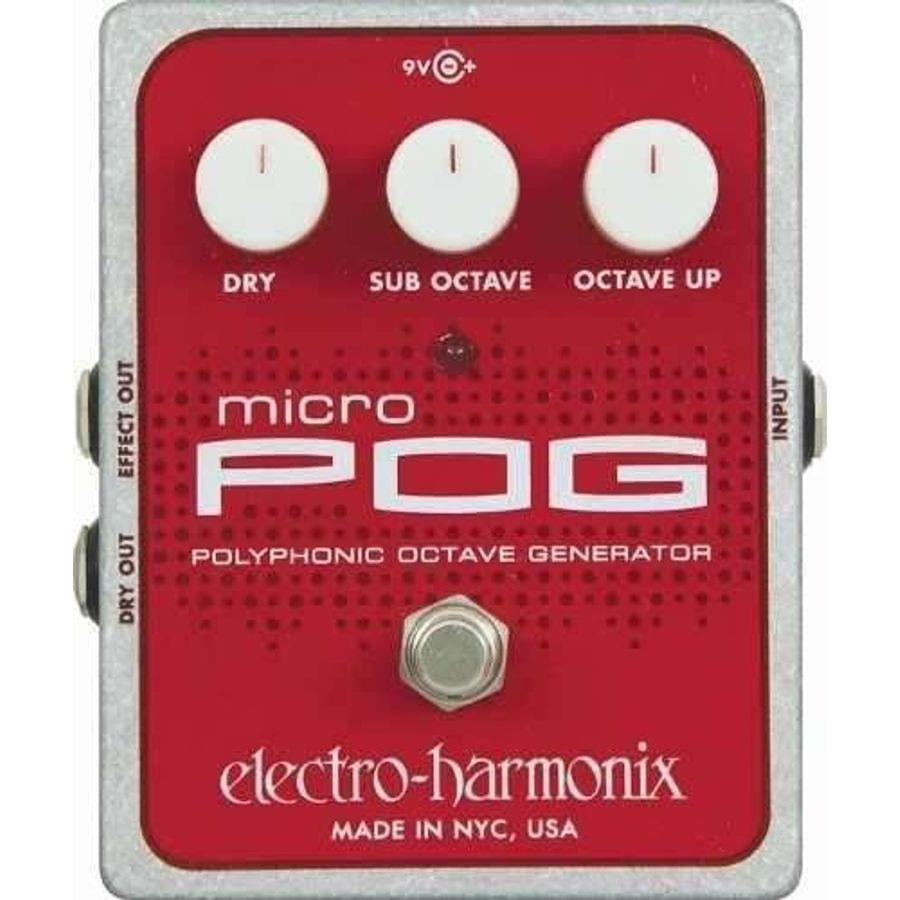 Electro-Harmonix-Pedal-Efecto-Octavador-Polifonico-Micro-Pog