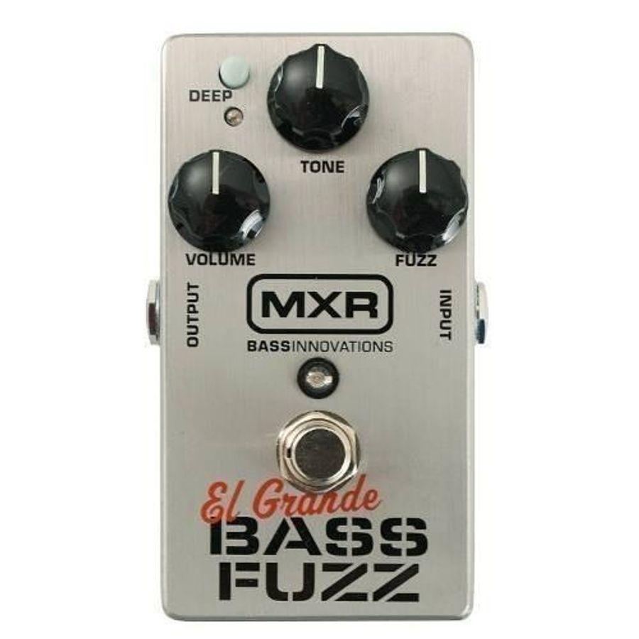 Mxr-Pedal-De-Efecto-Para-Bajo-Bass-Fuzz-M182