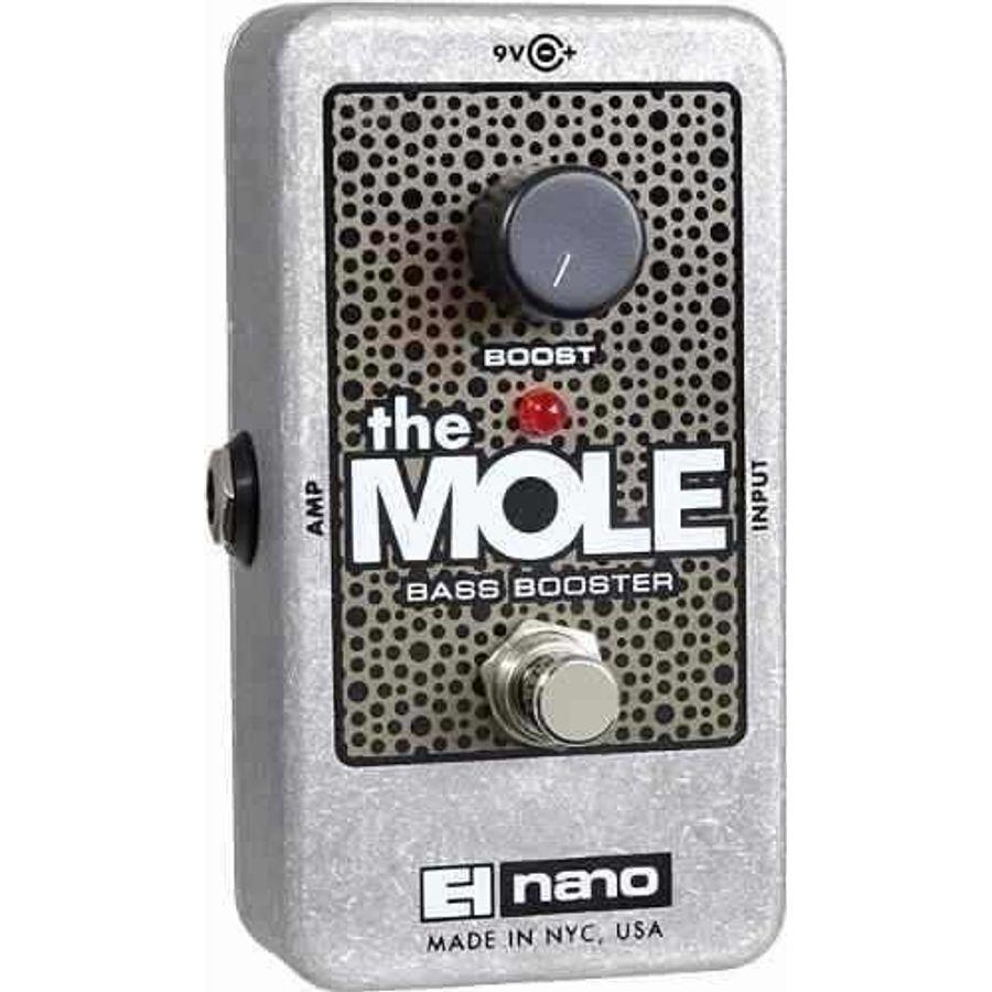 Electro-Harmonix-Pedal-De-Efectos-Booster-De-Graves-The-Mole