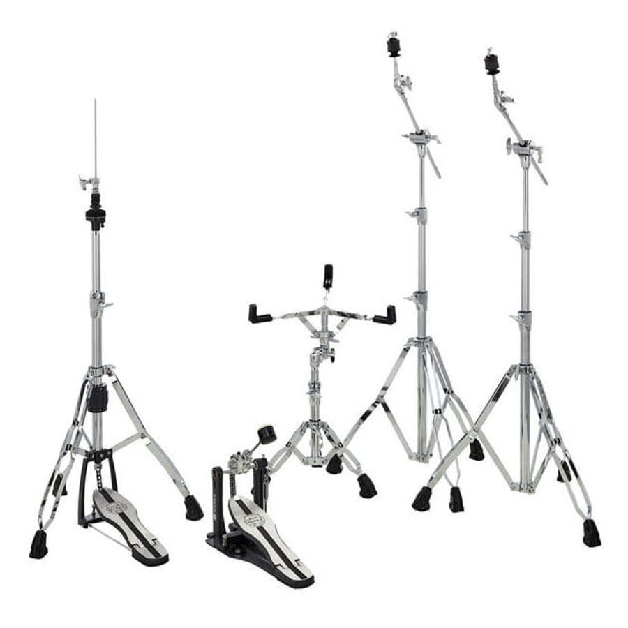 Set-5-Fierros-Mapex-Mars-Hp-6005-Pata-Doble-Cromados