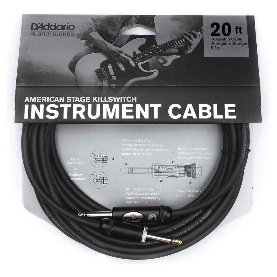 Cable-De-Instrumentos-Daddario-Pw-amsk-20-Angular-65-Metros