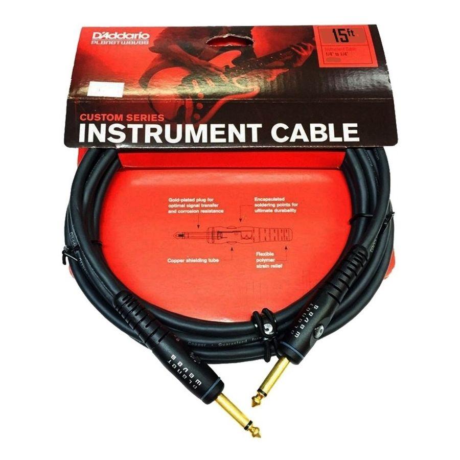 Cable-Para-Instrumentos-Daddario-Planet-Waves-Pw-g-15-De-15-Pies-45-Mts-Ficha-Recta