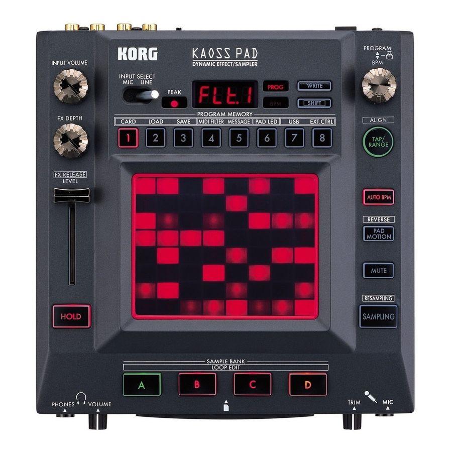Procesador-De-Efectos-Korg-Kaoss-Pad-Kp3-Tactil-Con-Vocoder-Sampler-Y-Multiefectos-Dinamicos