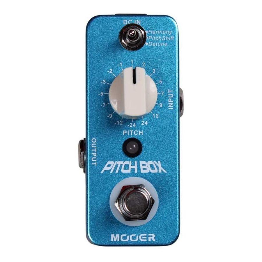 Pedal-De-Efectos-Para-Guitarra-Electrica-Efecto-Pitch-Mooer-Pitch-box-Palanca-Para-Armonia-Pitchshifter-Y-Detune