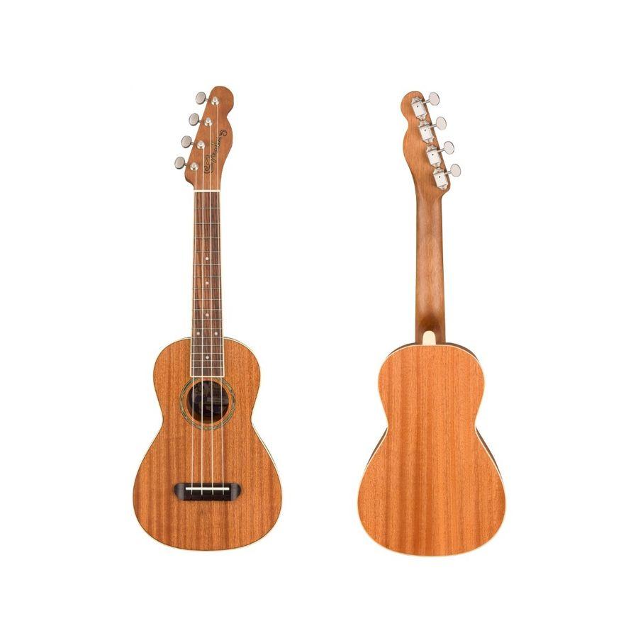 Ukelele-Tamaño-Concierto-Fender-Ukelele-Mino-aka-Caoba