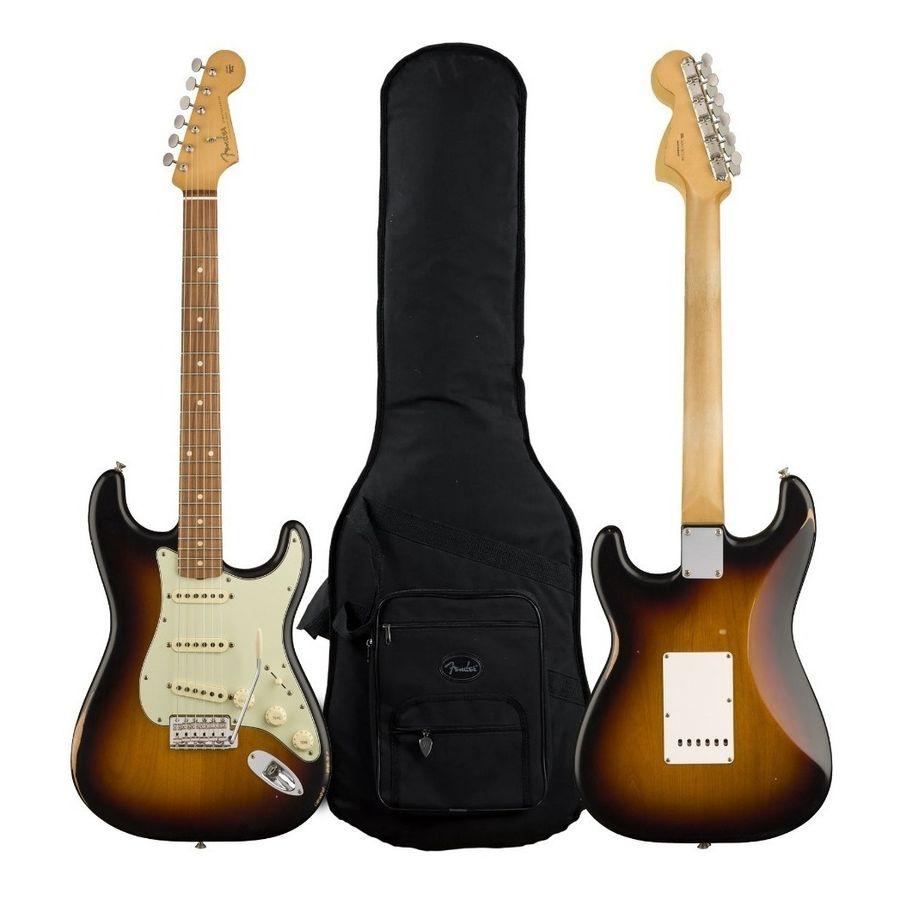 Guitarra-Fender-Stratocaster-Road-Worn-60-s-Sunburst-Funda