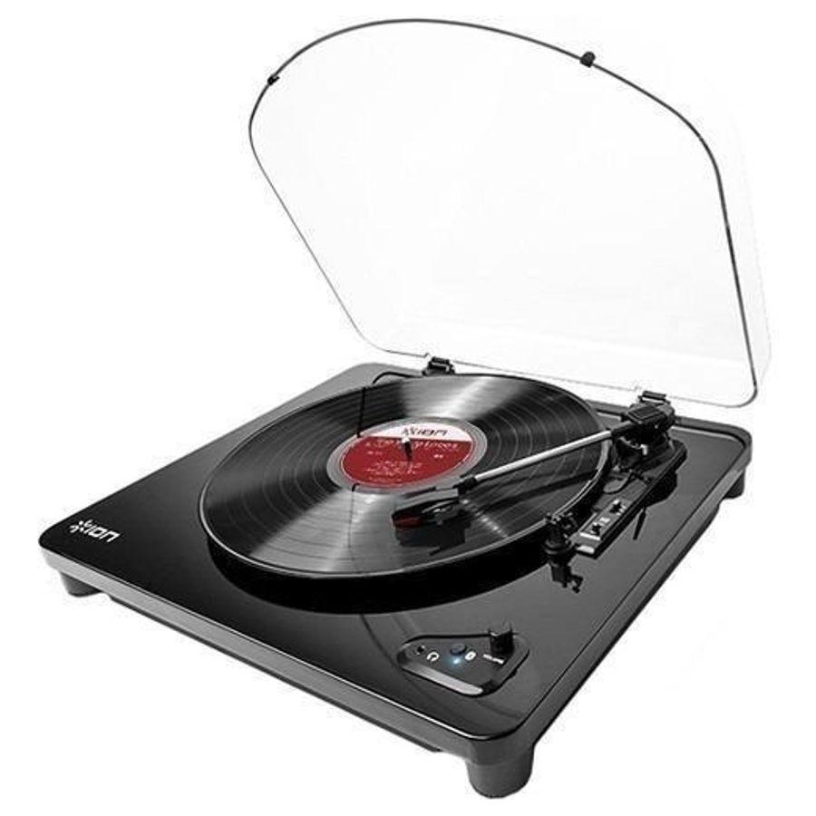 Bandeja-Giradiscos-Ion-Air-Pxus-Con-Bluetooth---Usb-Reproduce-Discos-De-33-1-3-45-Y-78-Rpm-Reproduccion-De-Calidad.