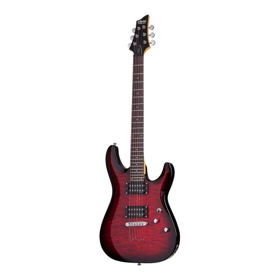 Guitarra-Electrica-Schecter-C-6-Plus-Thrubody-Pickup-hh