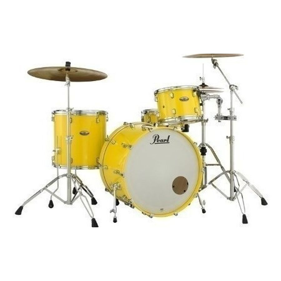 Bateria-Pearl-Decade-Maple-Bombo-De-20-C--Solid-Yellow