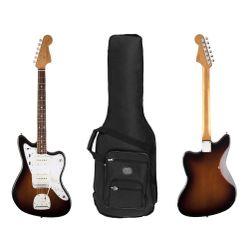 Guitarra-Electrica-Fender-Jazzmaster-Road-Worn-60-s---Funda