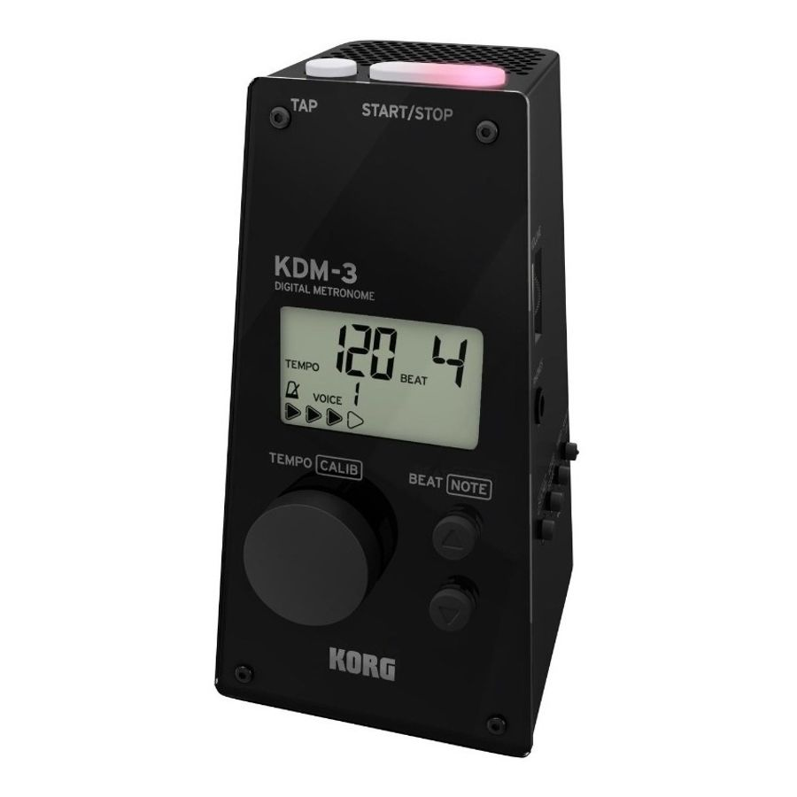 Metronomo-Digital-Korg-Kdm-3--Edicion-Limitada--negro-